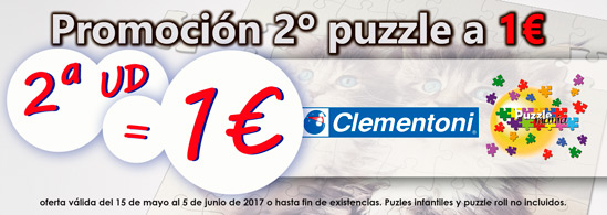 Oferta puzzles CLEMENTONI