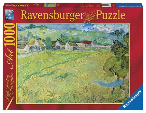 Puzzle ravensburger puzzle de 1000 piezas puzzle casa de auvers van gogh ref 0000019221 en - La casa del puzzle madrid ...